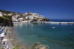 Zeekustmening bij het Eiland van Kreta Royalty-vrije Stock Afbeeldingen