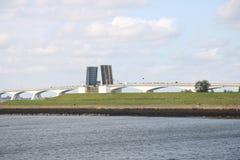 The Zeeland Bridge Stock Photography