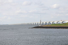 The Zeeland Bridge Royalty Free Stock Photos