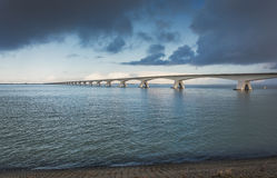 Zeeland Bridge Stock Photos