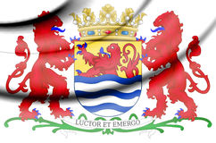 Zeeland coat of arms, Netherlands. Royalty Free Stock Photography