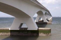 Zeelandbrug or Zeeland Bridge Royalty Free Stock Image