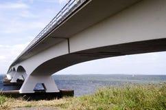Zeelandbrug or Zeeland Bridge Royalty Free Stock Photography