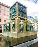 Zeeliedenmonument - Bergen Norway Royalty-vrije Stock Fotografie