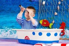 Zeeman Boy Stock Foto