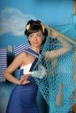 Zeeman Girl Royalty-vrije Stock Afbeelding