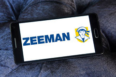 Zeeman stores logo. Logo of Zeeman stores on samsung mobile. Zeeman is a European chain store with about 1,000 establishments in the Netherlands, Germany Stock Photos