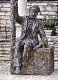 Zeemansstandbeeld stock foto
