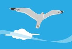 Zeemeeuw vector illustratie