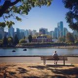 Zeemuseum bij H M C S Ontdekking in Vancouver, Brits Colombia, Canada royalty-vrije stock afbeelding