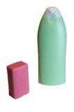 Zeep en shampoo Royalty-vrije Stock Fotografie