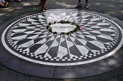Zeer aardige bloemenkroon bij Central Park New York royalty-vrije stock fotografie