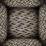 Zeer abstract houten binnenland Royalty-vrije Stock Foto