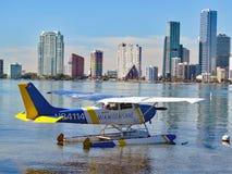 Zeer belangrijk Biscayne-Handvest Sightseeings Overzees Vliegtuig Stock Foto