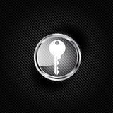 Zeer belangrijk pictogram, het symbool van het deurslot Stock Afbeelding