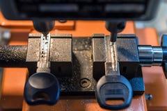 Zeer belangrijke dubbele machine royalty-vrije stock fotografie