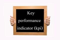 Zeer belangrijke prestatie-indicator (kpi) royalty-vrije stock afbeeldingen
