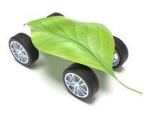 Zeer ecologische auto Stock Foto's