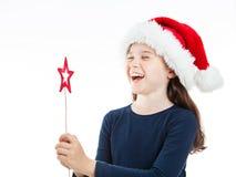 Zeer Gelukkige Kerstmis Stock Foto