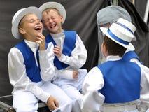Zeer grappige boys_4 Stock Foto's