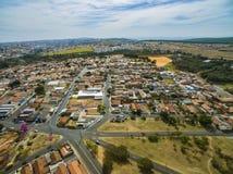 Zeer kleine stad in Sao Paulo, Brazilië Zuid-Amerika royalty-vrije stock foto