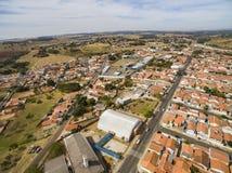 Zeer kleine stad in Sao Paulo, Brazilië Zuid-Amerika stock fotografie