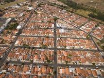 Zeer kleine stad in Sao Paulo, Brazilië Zuid-Amerika royalty-vrije stock afbeelding