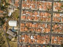 Zeer kleine stad in Sao Paulo, Brazilië Zuid-Amerika royalty-vrije stock fotografie