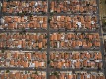Zeer kleine stad in Sao Paulo, Brazilië Zuid-Amerika royalty-vrije stock foto's
