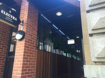 Zeer moderne bar in Adelaide stock foto