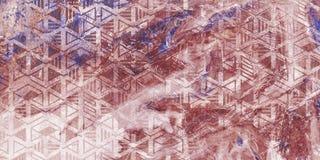 Zeer mooi purper marmeren patroon Abstract kunstbehang Kunst en Goud Ebru- Turks document Natuurlijke Luxe E stock afbeelding