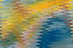 Zeer mooie marmeren kunst OCEAANachtergrond stock illustratie
