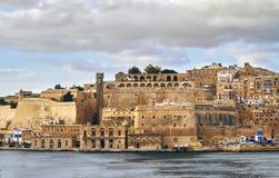 Zeer mooie oude stad door het overzees royalty-vrije stock fotografie