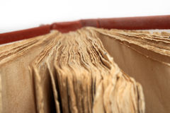 Zeer oud boek Stock Afbeeldingen