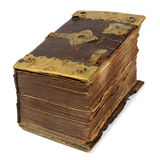 Zeer oud boek royalty-vrije stock foto's
