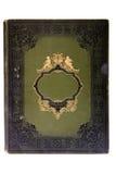 Zeer oud dekkingsboek (de vroege jaren 1900) stock afbeelding