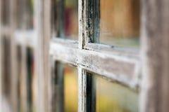 Zeer oud grunged houten venster Royalty-vrije Stock Afbeelding