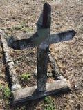 Zeer oud kruis Stock Afbeeldingen