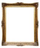 Zeer oud retro gouden oud frame (No#8) royalty-vrije stock afbeelding
