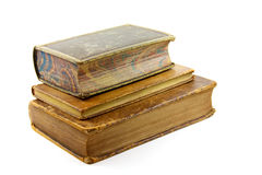 Zeer oude boeken Royalty-vrije Stock Foto