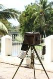 Zeer oude camera Royalty-vrije Stock Afbeelding