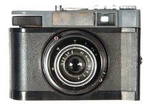 Zeer oude klassieke camera Stock Fotografie