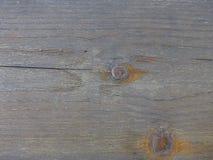 Zeer oude plank van oud hout doorstaan tegen tijd Gebarsten houten raad royalty-vrije stock foto