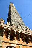 Zeer oude toren, Bologna, Italië Stock Afbeelding
