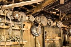 Zeer oude workshop Royalty-vrije Stock Foto's