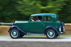 Zeer snel oude auto Royalty-vrije Stock Afbeelding