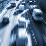 Zeer snelle auto's Royalty-vrije Stock Afbeeldingen