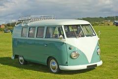 Zeer vroege de slaapbestelwagen van VW. Stock Fotografie