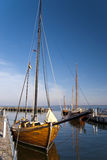 Zeesboot - рыбацкая лодка Стоковые Фотографии RF