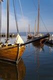 Zeesboot - bateau de pêche Photographie stock